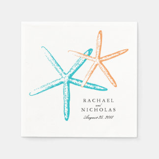 Skinny Starfish | Wedding Disposable Napkins