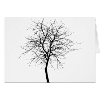 Skinny Tree Card