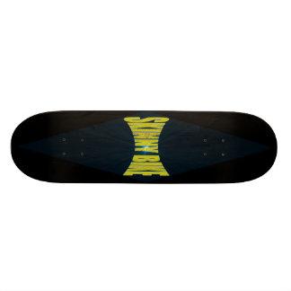 skinnybikeboard custom skate board