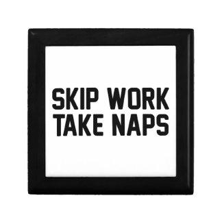 Skip Work Take Naps Gift Box