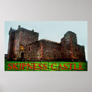 skipness castle poster