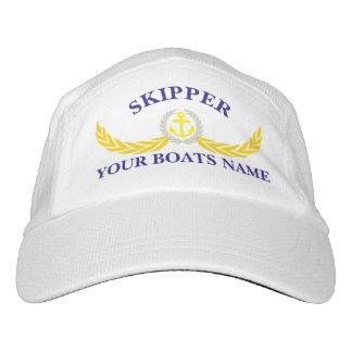 Skipper boat crew headsweats hat