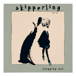 """""""Skipperling and Me"""" 20""""x 20"""" Poster"""