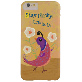 Skipping Quail with Flowers iPhone 6 Plus Case
