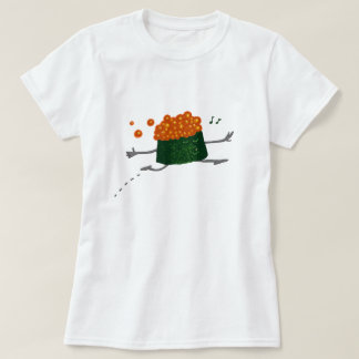 Skipping Salmon Roe Funny Sushi T-Shirt