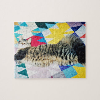 Skitter on the Maple Quilt Jigsaw Puzzle