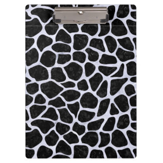 SKN1 BK-WH MARBLE (R) CLIPBOARDS