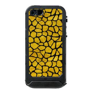 SKN1 BK-YL MARBLE INCIPIO ATLAS ID™ iPhone 5 CASE