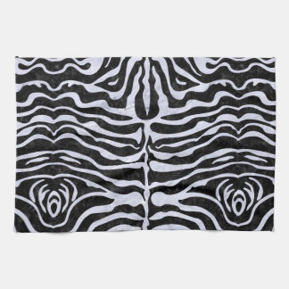 SKN2 BK-WH MARBLE HAND TOWELS