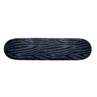 SKN4 BK-MRBL BL-STONE CUSTOM SKATE BOARD