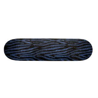 SKN4 BK-MRBL BL-STONE (R) CUSTOM SKATE BOARD