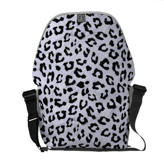 SKN5 BK-WH MARBLE COURIER BAGS