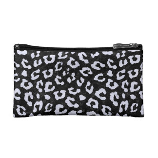 SKN5 BK-WH MARBLE (R) COSMETIC BAGS