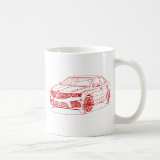 Sko Octavia 2017 RS245 Coffee Mug