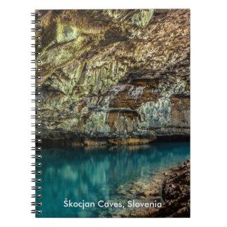 Škocjan Caves Slovenia UNESCO's world heritage Note Books