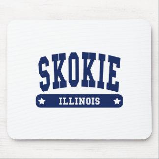 Skokie Illinois College Style tee shirts Mouse Pad