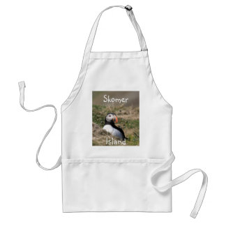 Skomer Island Puffins Adult Apron