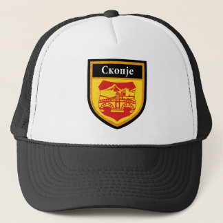 Skopje Flag Trucker Hat
