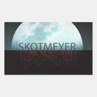 Skot Meyer Half Moon Sticker By Karen Kreature