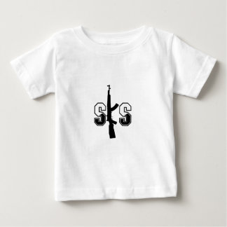 SKS Assault Rifle Logo Black Baby T-Shirt