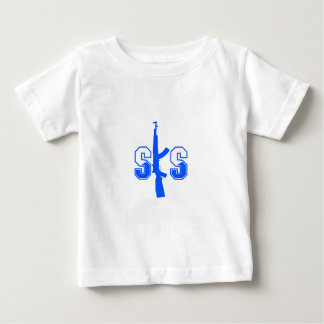 SKS Assault Rifle Logo Blue.png Baby T-Shirt
