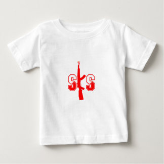 SKS Assault Rifle Logo Red.png Baby T-Shirt