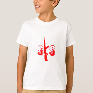 SKS Assault Rifle Logo Red.png T-Shirt