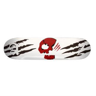 SKULETONS SKULL HEAD w/ Bear Claws Skateboard Deck