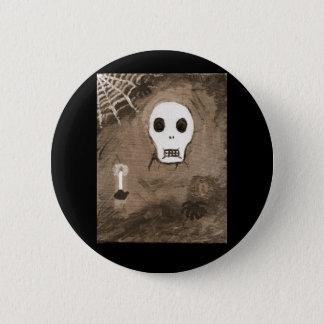 skull0017 2 inch round button