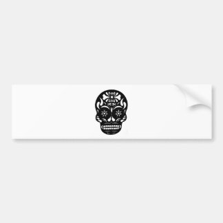 Skull1-Black Bumper Sticker