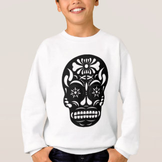 Skull1-Black Sweatshirt