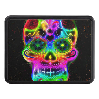 Skull20160604 Trailer Hitch Covers