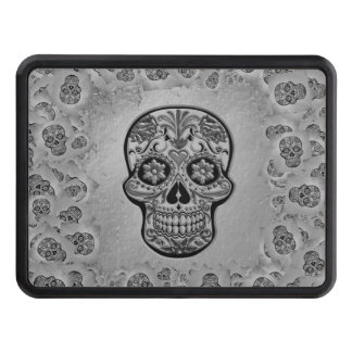 Skull20170233_by_JAMColors Trailer Hitch Cover