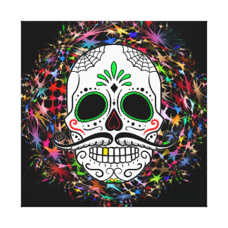 Skull20170396 Canvas Print