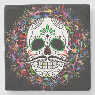 Skull20170396 Stone Coaster