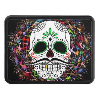 Skull20170396 Trailer Hitch Cover
