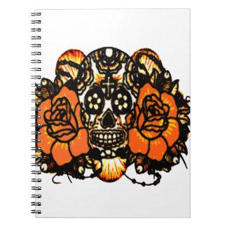 Skull 1 notebook