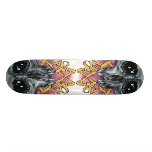 Skull 2 skate boards