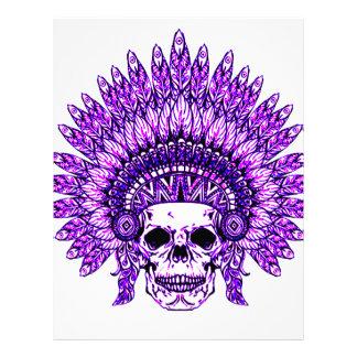 Skull 3 letterhead