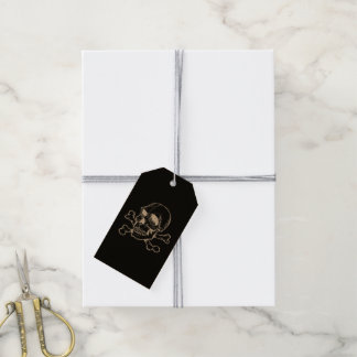 Skull 816 (Halloween) Pack Of Gift Tags