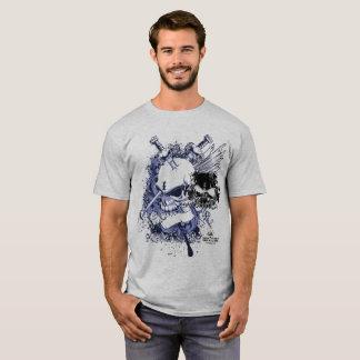 Skull Abstract 101 T-Shirt