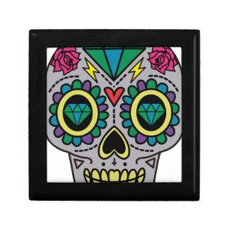 Skull Abstract Gift Box