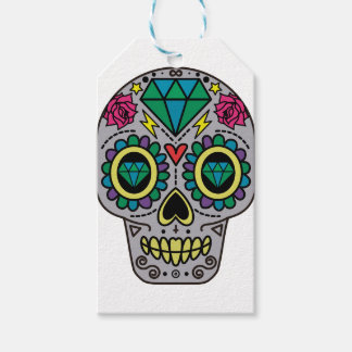 Skull Abstract Gift Tags
