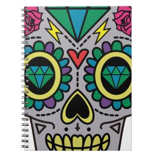 Skull Abstract Notebook