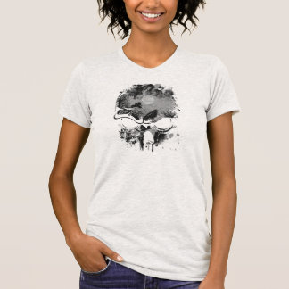 Skull Abstract T-Shirt