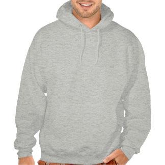 Skull Ace of Spades Design Men's Hooded Sweatshirt