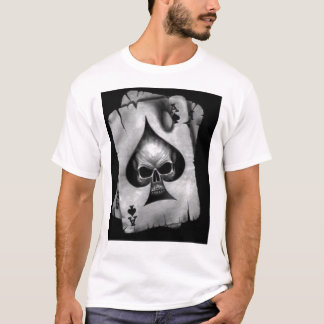 Skull Ace Of Spades T-Shirt