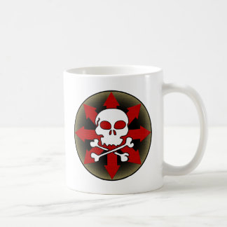 Skull and Arrows Coffee Mug