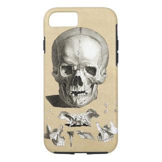Skull and Bones Anatomy iPhone 7 Case