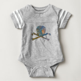 Skull and Bones Baby Bodysuit